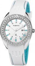 Orphelia OR22171151 - Orologio da polso donna, silicone, colore: bianco