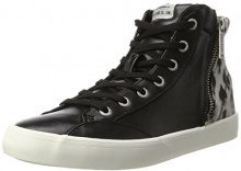 Pepe Jeans London Clinton Sue, Sneaker a Collo Alto Donna, Nero (Black), 39 EU