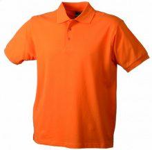 James & Nicholson Polo Classic, Polo Uomo, Arancione, M