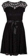 Morgan - Rorot, Vestito da Donna, Nero (Black - Black), 38 (Taglia Produttore: S)