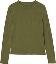 FIND 18110 magliette donna, Verde (Green Khaki), 42 (Taglia Produttore: Small)