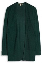 ESPRIT 087ee1i002, Cardigan Donna, Verde (Bottle Green 5 389), Small