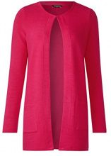 Street One 312222, Cardigan Donna, Rosa (Carribean Pink 11293), 40