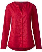 Cecil 340761, Blusa Donna, Rosso (Salsa Red 11198), XL