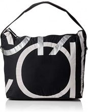Calvin Klein Jeans Loud Hobo - Borse a spalla Donna, Nero (Black), 17x33x37 cm (B x H x T)