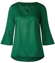 Cecil 340860, Blusa Donna, Verde (Clover Green 11279), M