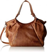 Bulaggi Ashley Shopper - Borse a spalla Donna, Marrone (Kognak), 24x14x31 cm (B x H T)