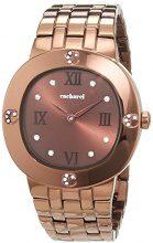 Cacharel CLD 006-5UM - Orologio da polso Donna, Acciaio inossidabile, colore: Marrone