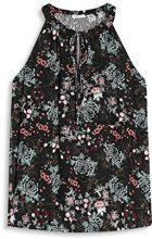 edc by Esprit 047cc1f007, Camicia Donna, (Black), 40 (Taglia Produttore: Large)