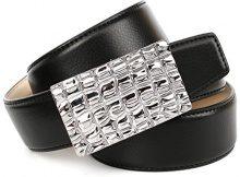 Anthoni Crown 1KRT10, Cintura Donna, (Schwarz 010), 100 cm