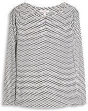 ESPRIT 037ee1f001, Camicia Donna, Multicolore (off White), 38