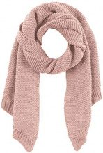 PIECES Pcdace Long Wool Scarf Noos, Sciarpa Donna, Rosa Peachskin, Taglia Unica