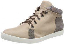 Think Seas_282977, Sneaker a Collo Alto Donna, Beige (Macchiato/Kombi 25), 41 EU