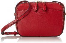 LK BENNETT 0401 50012 0156, Borsa a tracolla Donna, Rosso (Rosso (RED-ROCA RED 629)), 6.5x14.5x18.5 cm (B x H x T)