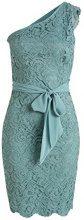 ESPRIT Collection - hochwertige Spitze, Vestito Donna, Verde (DUSTY GREEN 335), L (Taglia Produttore: 44)