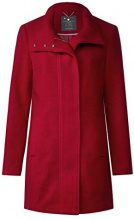 Street One 100417, Cappotto Donna, Rot (Carpet Red 11359), 50