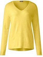 Street One 300657, Maglione Donna, Gelb (Deep Lemon Melange 11521), 42