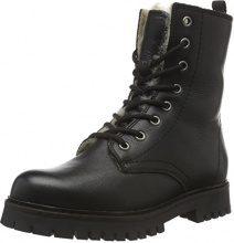 BiancoWarm Clean Boot SON15 - Stivali a metà Gamba con Imbottitura Pesante Donna, Nero (Schwarz (BLACK/10)), 37