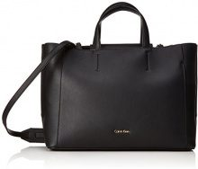 Calvin Klein Metropolitan Tote - Borse Donna, Nero (Black), 15x27x40 cm (B x H T)