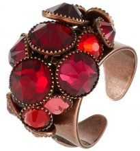 WATERFALLS - Anello - red/dark rose