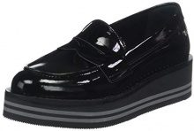 Tommy Hilfiger Modern Flatform Loafer, Mocassini Donna, Nero (Black 990), 42 EU
