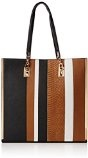 New LookSleek Stripe Shopper - Sacchetto donna