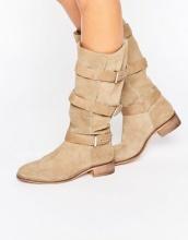 ASOS - CANTERBURY - Stivali scamosciati al ginocchio