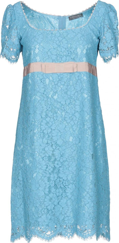 buy online 35967 89bba Vestiti a maniche corte azzurri | Tendenze Donna Autunno ...