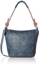 Tamaris Lindsey Crossbody Bag - Borse a tracolla Donna, Blau (Navy), 26x12x24 cm (B x H T)