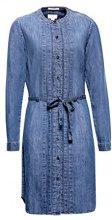 ESPRIT 088ee1e021, Vestito Donna, Blu (Blue Medium Wash 902), Small