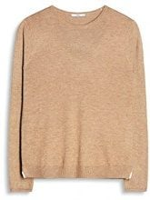 edc by Esprit 077cc1i024, Felpa Donna, Marrone (Camel 230), X-Large