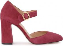 Scarpa con tacco Michael Kors Alana in suede gelso
