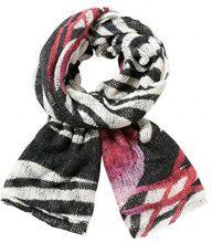 Desigual Buf_Zebra, Sciarpa Donna, Nero (Negro 2000), Unica (Taglia Produttore: U)