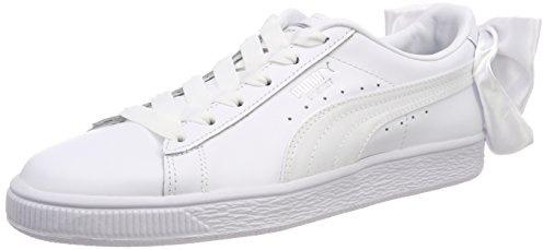 Bianco da Basket Ginnastica Wn's White Basse Donna Scarpe Puma Bow w8UIUB