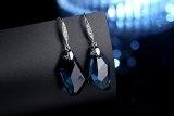 GoSparking Montana cristallo 925 orecchini in argento con cristallo austriaco per le donne