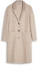 edc by Esprit 087cc1g033, Giubbotto Donna, Beige (Light Beige 290), Large
