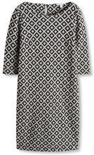 ESPRIT 096EE1E016, Vestito Donna, Multicolore (BLACK), 36 (Taglia Produttore: Small)