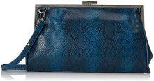 Bulaggi Jailey Framebag - Pochette da giorno Donna, Blu (Dunkel Blau), 16x5x28 cm (B x H T)