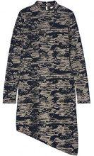 FIND Vestito a Manica Lunga Camouflage Donna , Multicolore (Multi), 44 (Taglia Produttore: Medium)