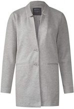 Street One 210729, Cappotto Donna, Grau (Moon Grey Melange 11423), 48