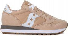 Sneaker Saucony Jazz in pelle e nylon rosa e bianca