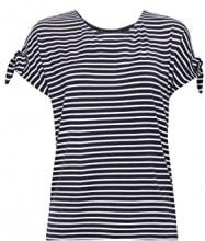 ESPRIT Collection 068eo1k013, T-Shirt Donna, Blu (Navy 400), Medium