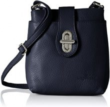 Bags4Less Rania - Borse a tracolla Donna, Blau (Dunkelblau), 8x21x20 cm (B x H T)