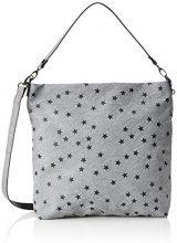s.Oliver (Bags) 39.708.94.6040 - Borsa Donna, Grau (Frost Grey), 8x38,5x35 cm (B x H T)