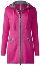 Street One 210730, Cappotto Donna, Pink (Dark Electric Pink 11486), 44