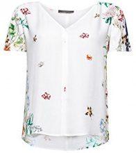 ESPRIT Collection 068eo1f005, Camicia Donna, Bianco (off White 110), 42 (Taglia Produttore: 36)