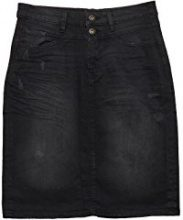 edc by Esprit 107cc1d003, Gonna Donna, Nero (Black Dark Wash 911), 34