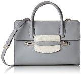 Cavalli Small handbag Goddess 005, Borsa baguette donna Blu Blau (Avio blu 084) 29x20x13 cm (B x H x T)