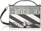 CavalliClaudia Bag Crazy Print #Leo 002 - Borsa con Maniglia Donna