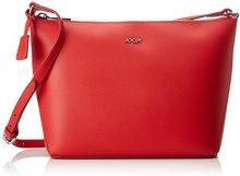 Joop! Pure Nila Shoulderbag Mhz - Borse a spalla Donna, Rot (Red), 11x21x25 cm (B x H T)